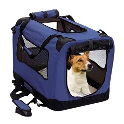 2Pet Foldable Soft Dog Pet Crate
