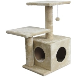AmazonBasics Cat Tree with Cave