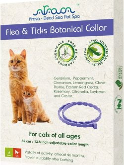 Arava Flea & Tick Prevention Collar – for Cats & Kittens