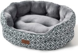 Bedsure Round Small Dog Bed & Cat Bed