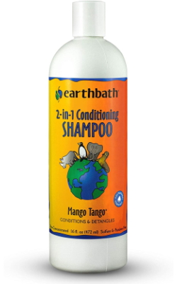 Earthbath 2-in-1 Conditioning Shampoo for Pets