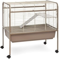 Prevue Hendryx Cocoa & Cream Small Animal Cage Stand