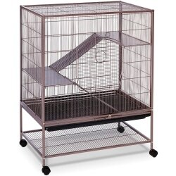 Prevue Rat and Chinchilla Cage 495 Earthtone Dusted Rose