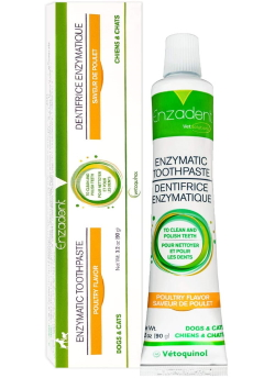 Vetoquinol Enzadent Enzymatic Toothpaste for Cats & Dogs