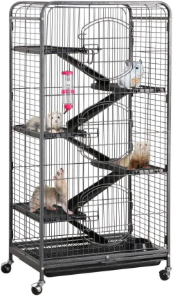 YAHEETECH 52-inch 6 Level Metal Critter Cage